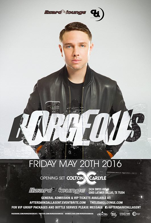 Friday May 20th, 2016 | Borgeous At The World Famous Lizard Lounge