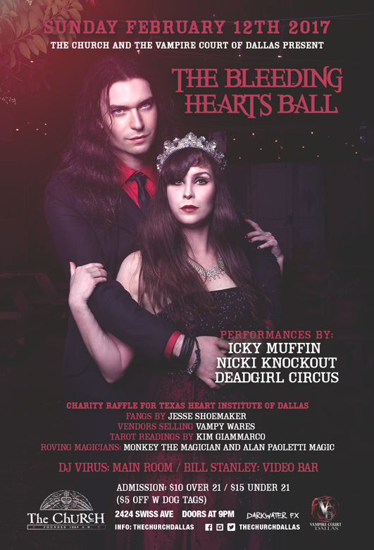 02.12.2017 - Bleeding Hearts Ball