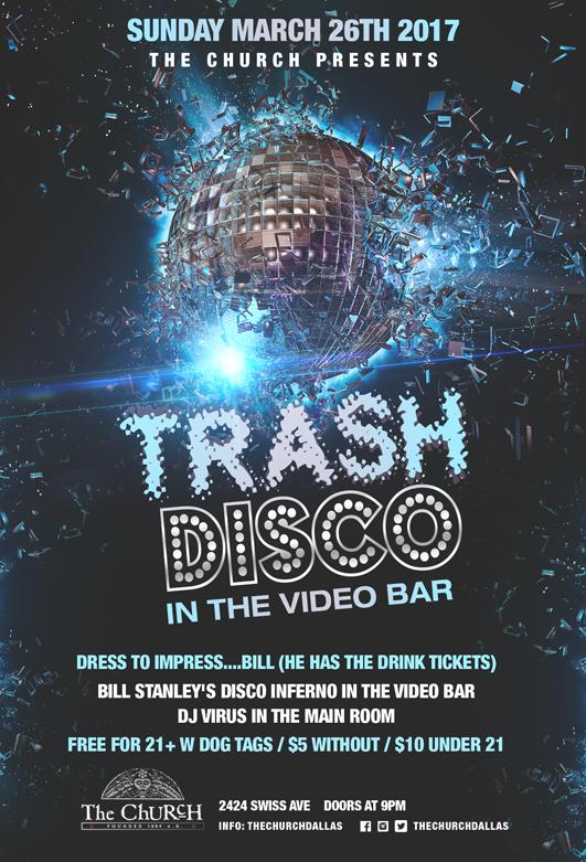 03.26.2017 - Bill Stanley's Trash Disco