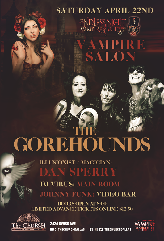 04.22.2017 - Endless Night Vampire Salon w Gorehounds / Dan Sperry