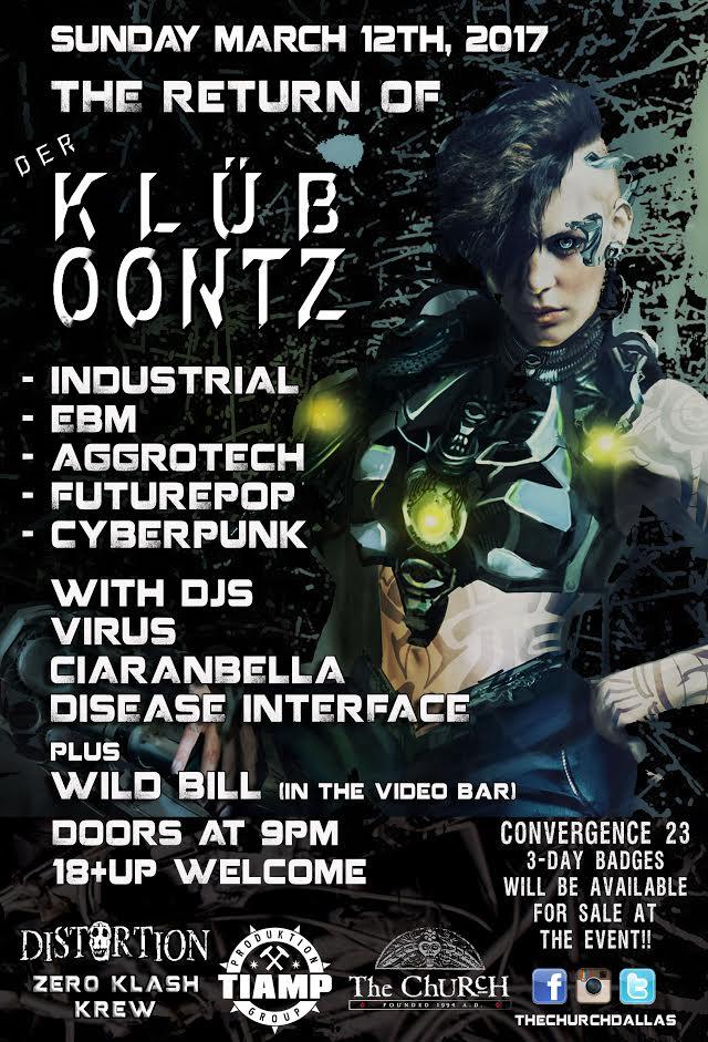 03.12.2017 - Return of Klub Oontz