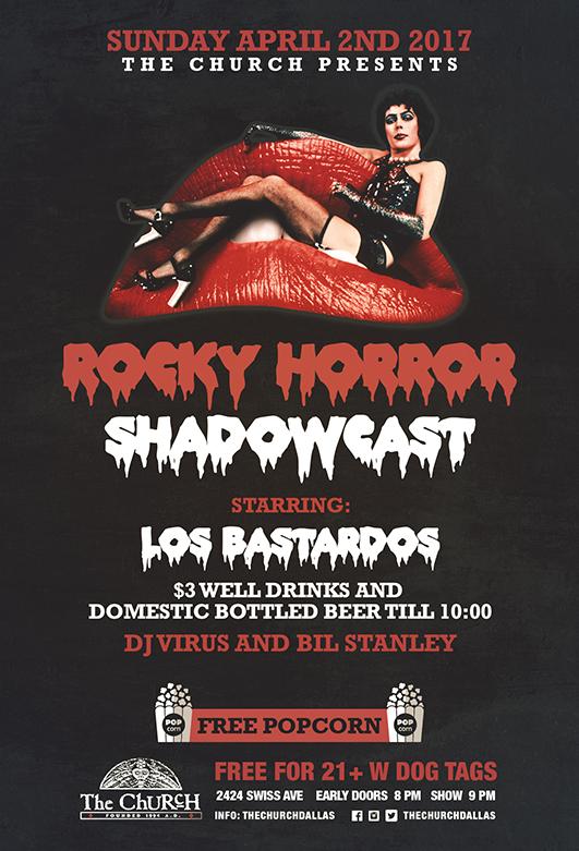 04.02.2017 - Rocky Horror w Los Bastardos