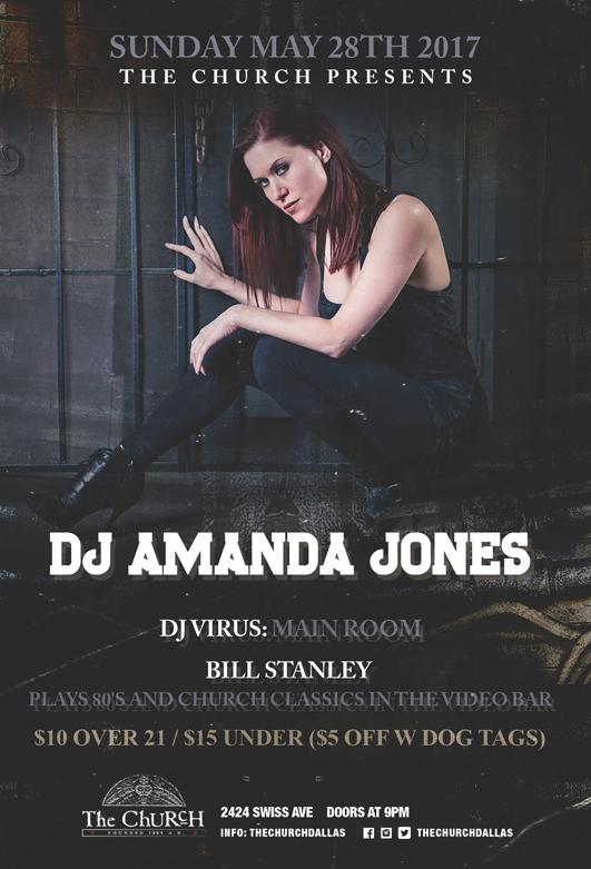 05.28.2017 - DJ Amanda Jones