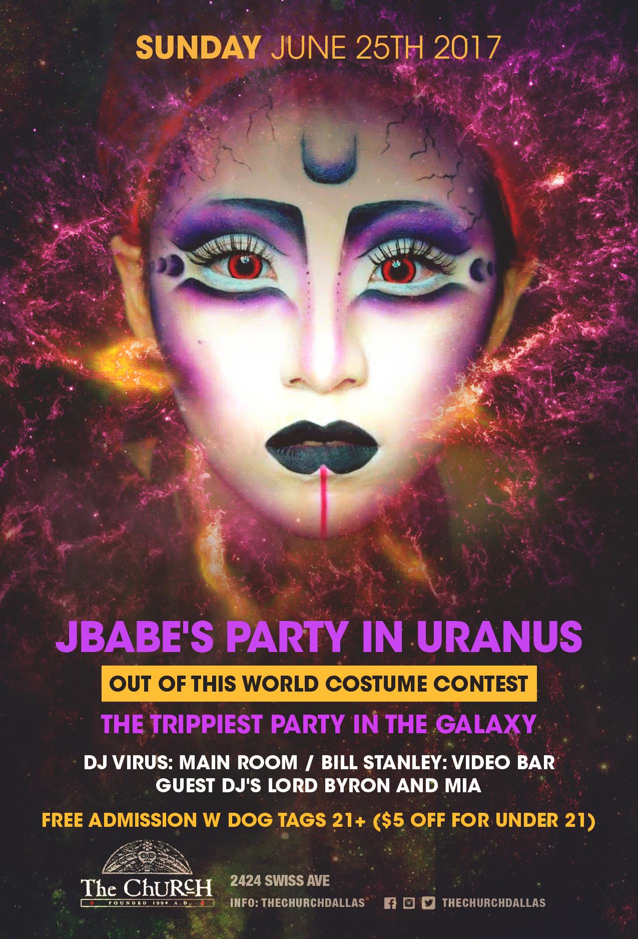06.25.2017 - JBabe's Party in Uranus