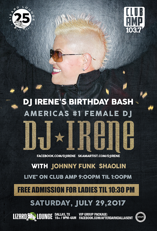07.29.2017 - DJ Irene's Birthday Bash