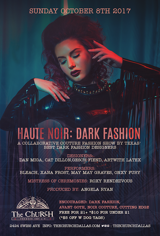 10.08.2017 - Haute Noir: Dark Fashion