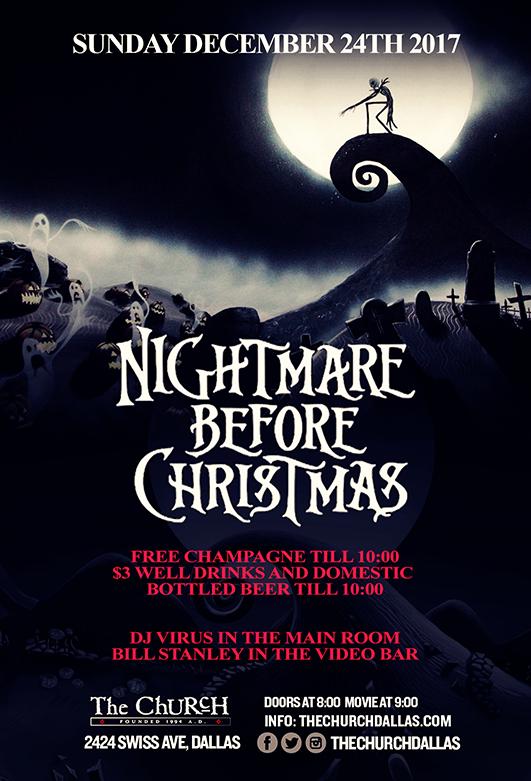 12.24.2017 - Nightmare Before Christmas