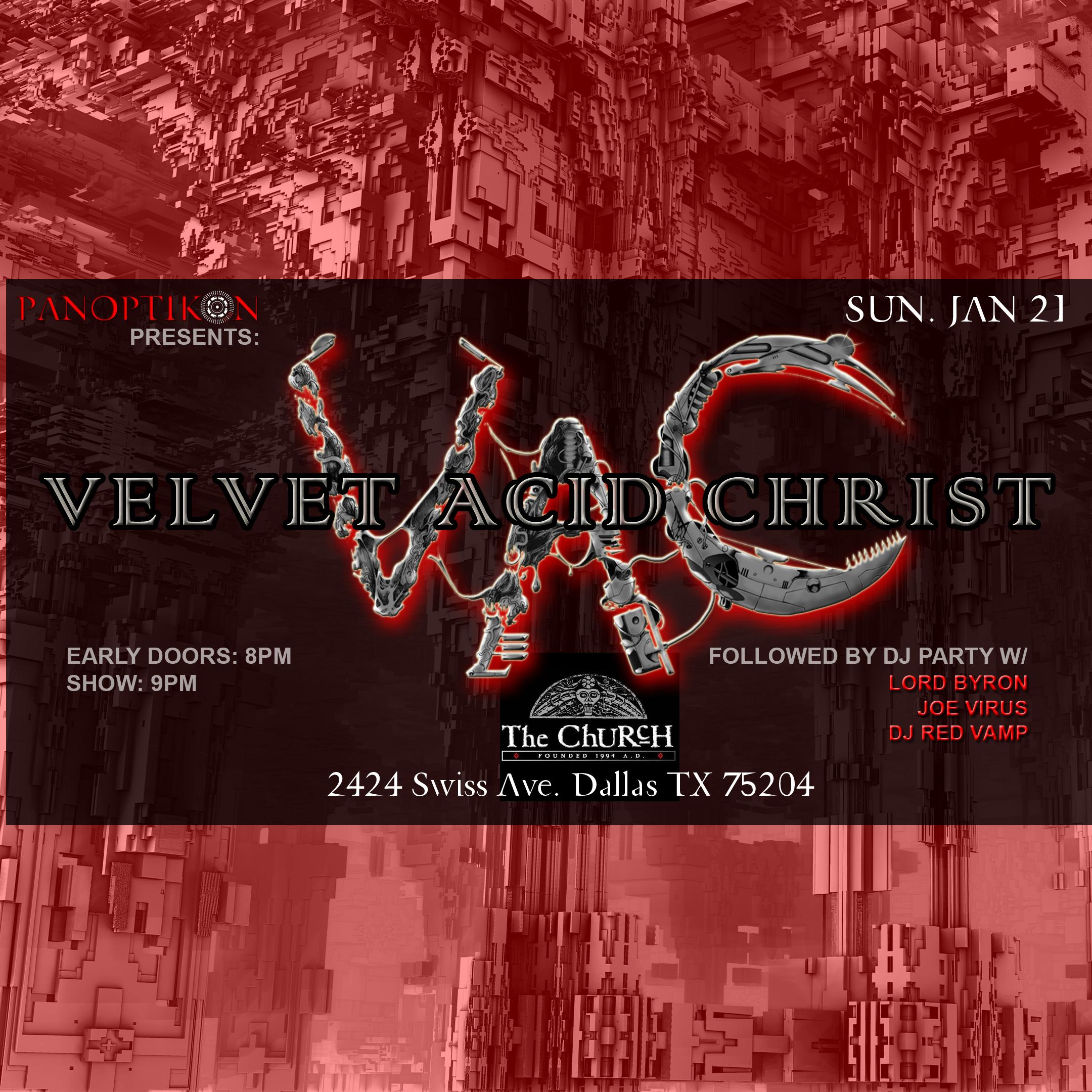01.21.2018 - Velvet Acid Christ