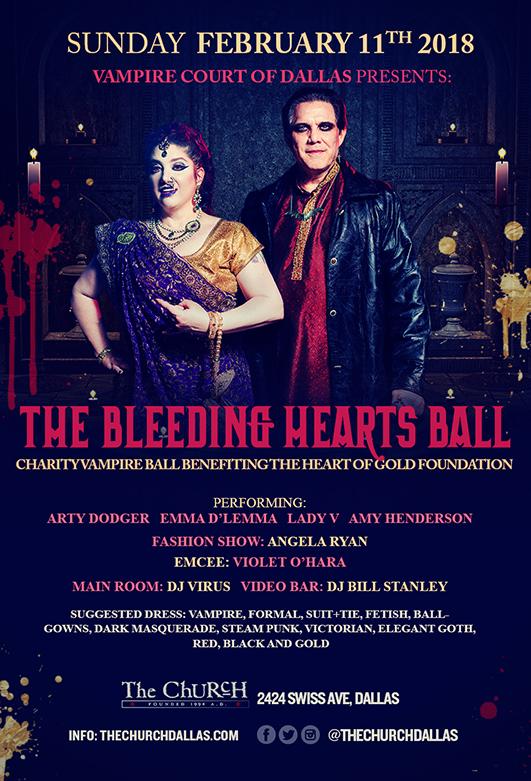 02.11.2018 - The Bleeding Hearts Ball