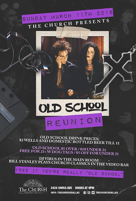 03.11.2018 - Old School Reunion