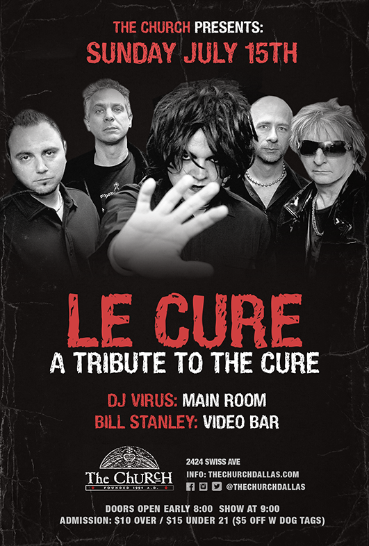 07.15.2018 - Le Cure: A Tribute to The Cure