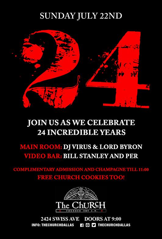 07.22.2018 - The Church 24th Anniversary