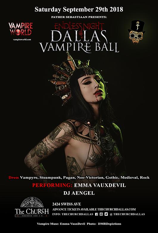 09.29.2018 - Endless Night: Dallas Vampire Ball 2018