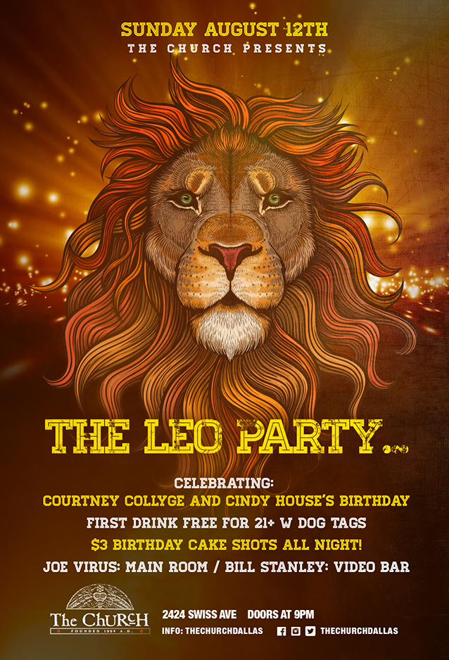 08.12.2018 - The Leo Party
