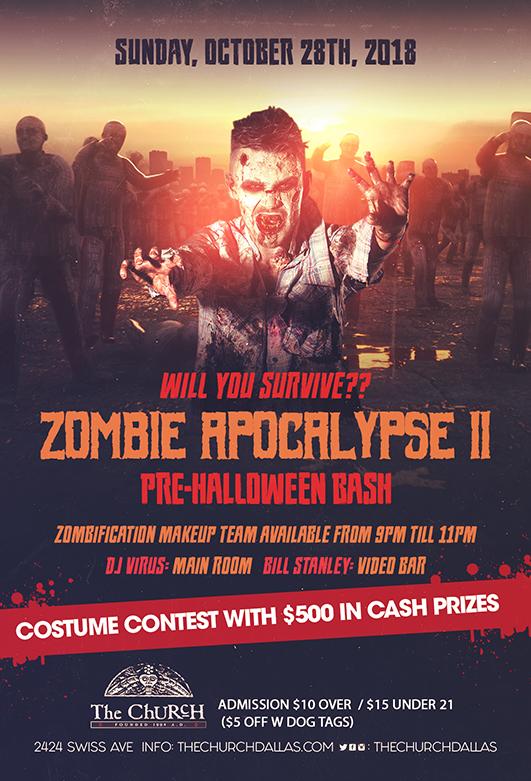 10.28.2018 - Zombie Apocalypse II