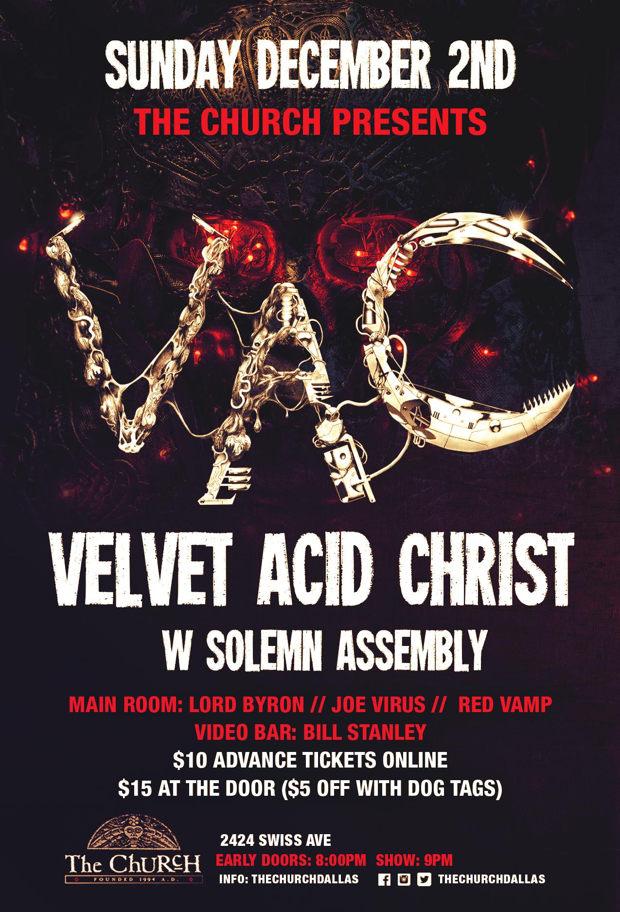 12.02.2018 - Velvet Acid Christ