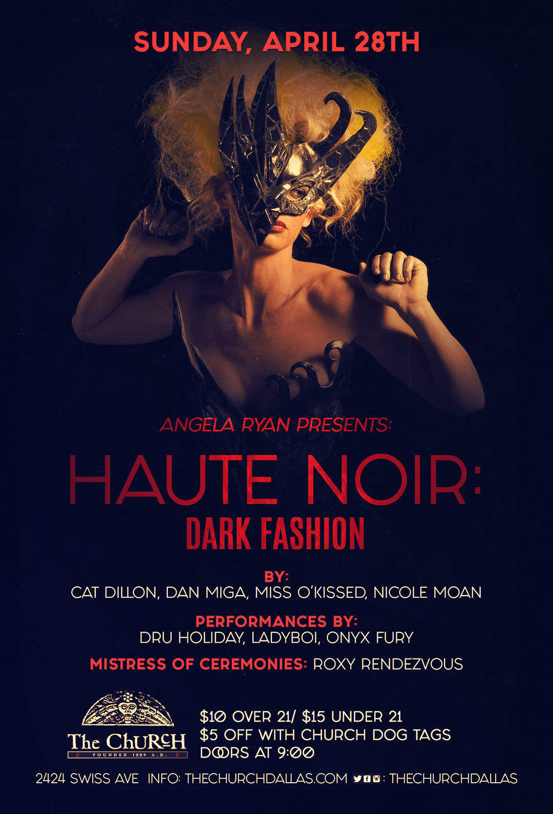 04.28.2019 - The Church: Haute Noir: Dark Fashion