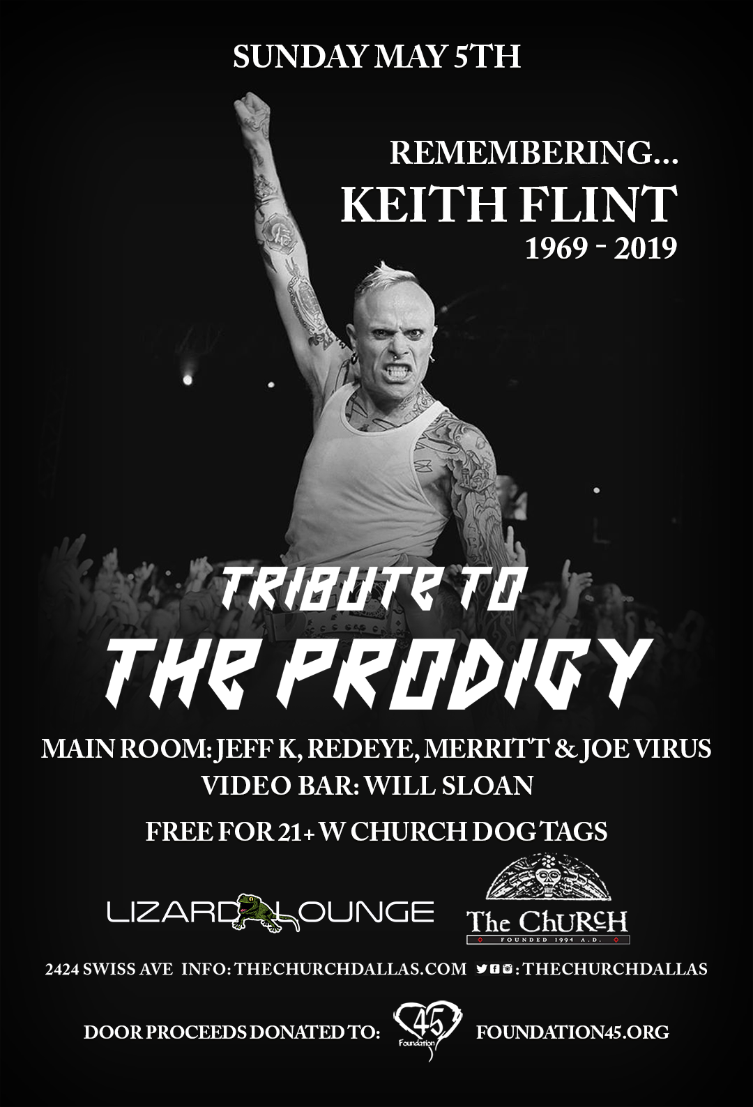 05.05.2019 - The Church: Tribute to The Prodigy