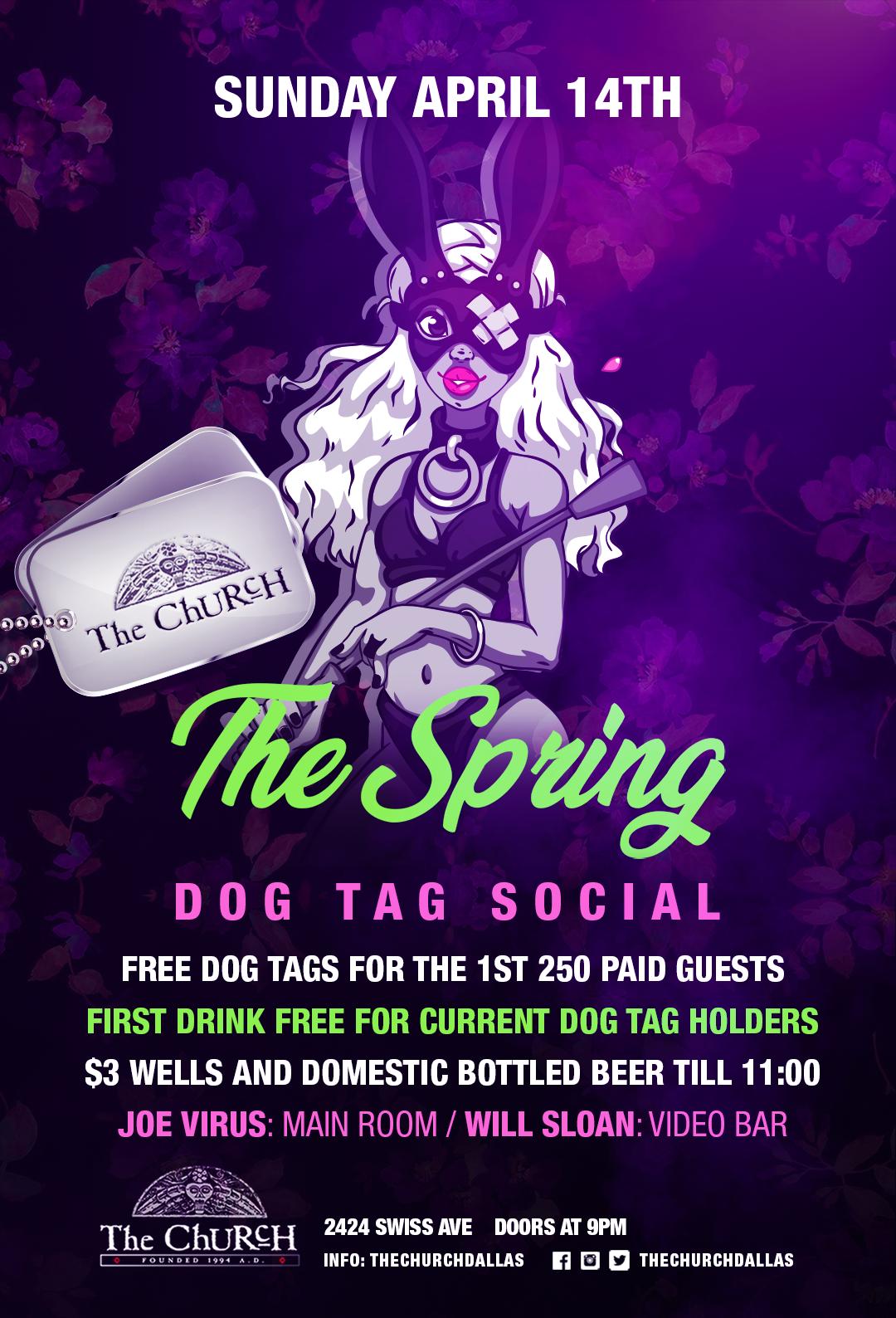 04.14.2019 - The Spring Dog Tag Social
